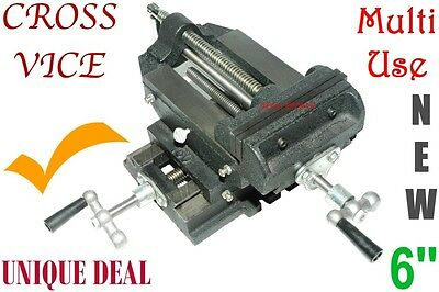 Cross Vice 6'' Multi Use, Milling, Drilling, Clamping, etc = Proven Model*******