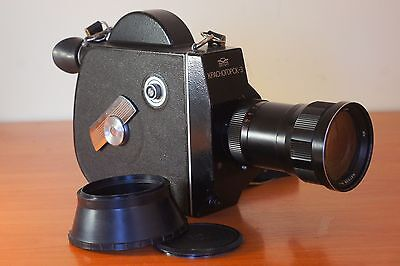 Krasnogorsk- 3 SOVIET RUSSIAN 16mm M42 movie camera Kit *SOLD AS IS!*