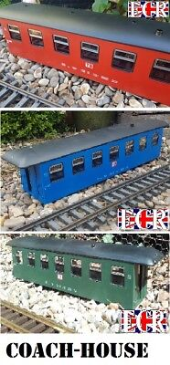 Brand New G Scale Gauge Railway Train Coach Body Convert To House Store Stable