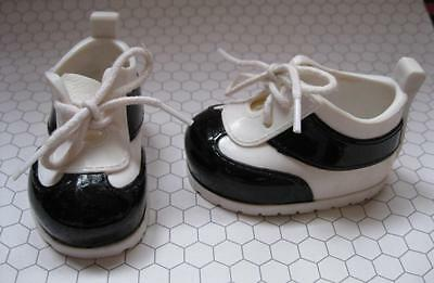Amazing Maddie Doll white black tennis SHOES ONLY Friend of Amazing Ally FS EUC