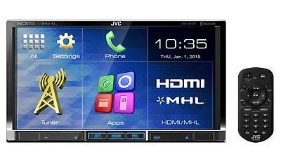 "JVC KW-V51BT 2-DIN DVD Player w/ 7"" WVGA Touchscreen Display"