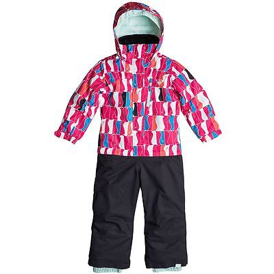 Roxy Girls Paradise Snow Suit, Ski Snowboarding Suit, Size 6/7 years, NWT