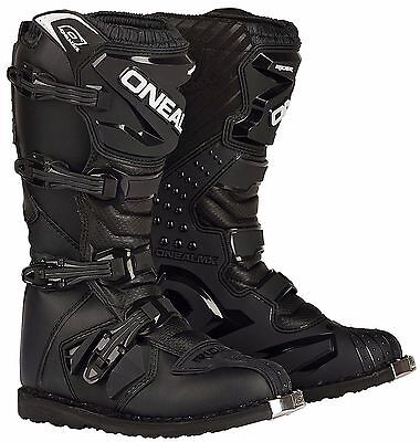 O'Neal ONeal Rider Dirt Offroad Motocross Motorcycle Boots Black FREE SHIPPING!