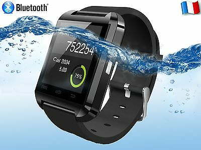 Montre Connectée Smart Watch Bluetooth Connecte iPhone Android Samsung HTC Sony