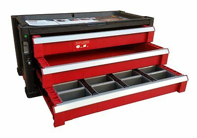 3 Drawer Tool Chest System Tool Organizer Box Toolbox KETER 220463