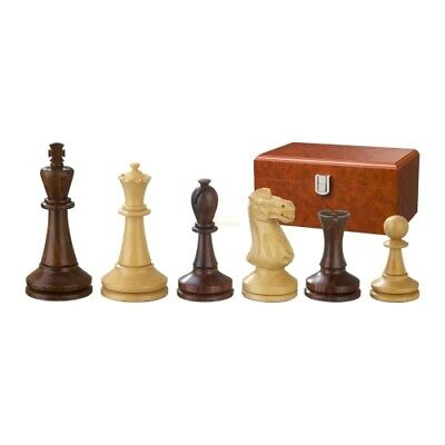 Chess figures - Augustus - Wood - Modern Staunton - Kings height 100 mm