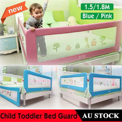 Guard Protection Safety Child Toddler Bed Rail Baby Bedrail Fold Cot Home Gift