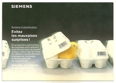 CPM - Postcard advertising SIEMENS - Postcard