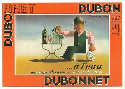 CPM - Postcard advertising DUBONNET collection ad ancient