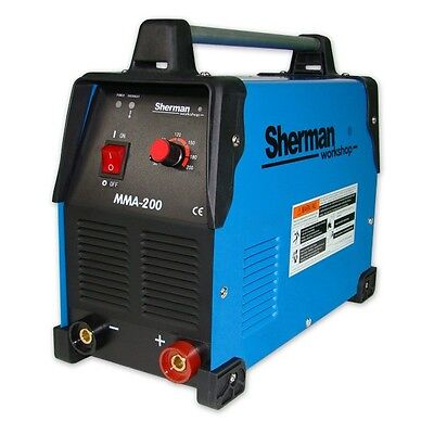 Sherman Inverter Welder Welding Machine ARC MMA 200 200A 230AC 50Hz MMA TIG DC
