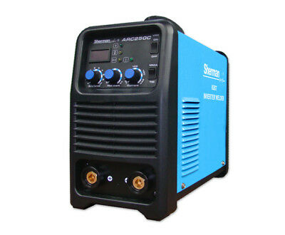 Sherman Profi Inverter Welder Welding Machine ARC250C 250Amp 3x400V 50Hz MMA TIG