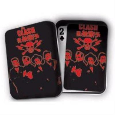 THE CLASH - SET OF PLAYING CARDS IN GIFT TIN - New/Sealed - Free Post