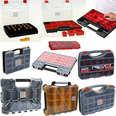 Carry Organisers Storage Tools Screws Nails Bolts Craft Beads Fishing