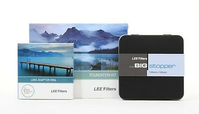 Lee Filters Foundation Kit with 77mm Wide Angle Adapter Ring and Big Stopper
