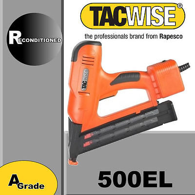 Tacwise nail gun 500EL Brad finishing nailer electric 240v Factory reconditioned