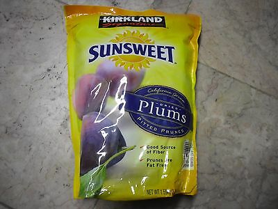 3.5 lbs Kirkland Signature Sunsweet Dried Plums Pitted Prunes California Grown