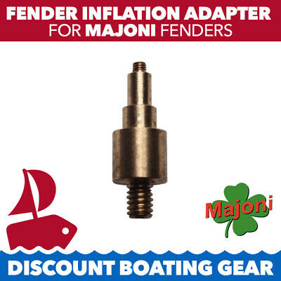 1x MAJONI Fender Inflation Adapter for Bicycle Pumps. Marine, Boat, Fish, Sail,