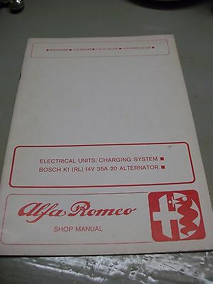 Alfa   Romeo  Shop  Manual Giulia Super 1750 Berlina  Gt & Spider  Originale