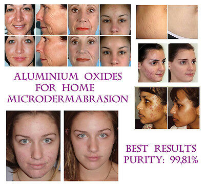 MICRODERMABRASION CRISTAUX,Oxyde D'Aluminium visage & corps Gommage 30g/29,6ml