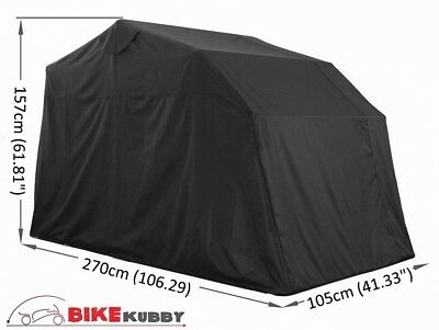 Sport / Trail / Scooter Small Motorcycle Cover Retractable Shelter Tent Garage