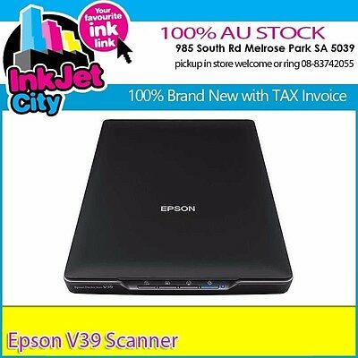 Epson Perfection V39 Photo Scanner+ AU Stock Warranty TAX Invoice