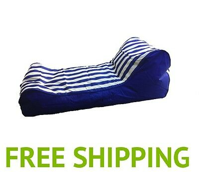 Lanii Indoor Outdoor Bean Bag – Day Bed Chair Lounger Quality Water Resistant