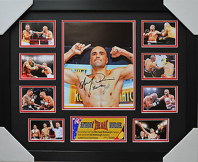 Anthony Mundine Signed And Framed Limited Edition