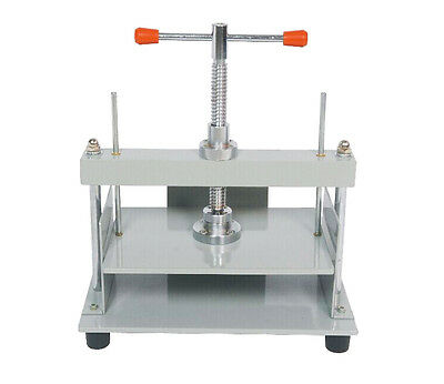 A4 Size Manual Flat Paper Press Machine for Nipping Vouchers, Books, Invoices