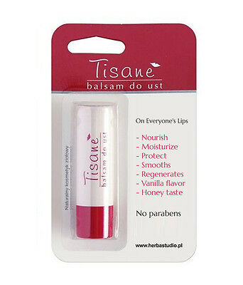 TISANE Lip Balm BESTSELLER!!! protection, chapped lips Women Award 100%Natural-P