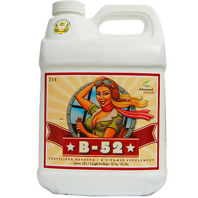 Advanced Nutrients B52 1-10 Litres Vitamin B Supplement Hydroponic Booster