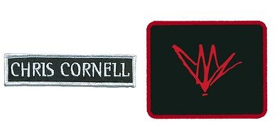 Chris Cornell Sew On Patch/Patches NEW OFFICIAL Choice of 2 designs