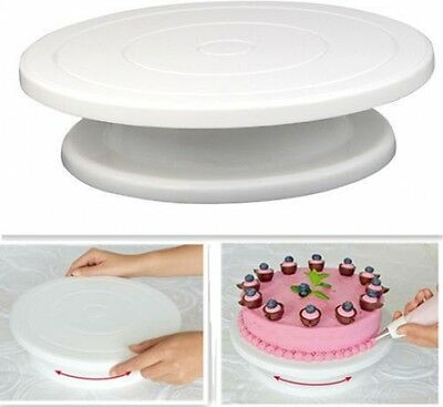 Cake Decorating Stand Display Rotary Sugarcraft Baking Icing Turntable Platform