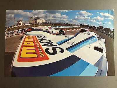 1987 Porsche 962 Coupe Race Car Print, Picture, Poster RARE!! Awesome L@@K