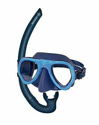 Beuchat MicroMax Mask Blue Camo and Blue spy Snorkel