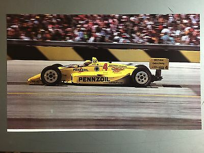 1990 Rick Mears' Pennzoil Indy Car Print, Picture, Poster RARE!! Awesome L@@K