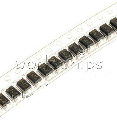 100Pcs 1N4002 IN4002 M2 DO-214 (SMD) TOSHIBA Diode WC