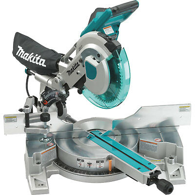 "10"" Dual Slide Compound Miter Saw PLUS Laser Makita LS1016L New"
