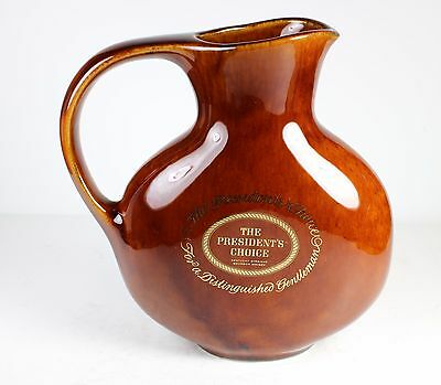 """The President's Choice Porcelain Bar Water Jug/pitcher *  * 7 1/4"""" Tall"""