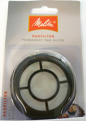 1 x PERMANENT COFFEE FILTER PAD FOR PHILIPS SENSEO COFFEE MAKING MELITTA