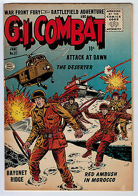 G.i. Combat #37 4.0 Off-White/white Pages Silver Age