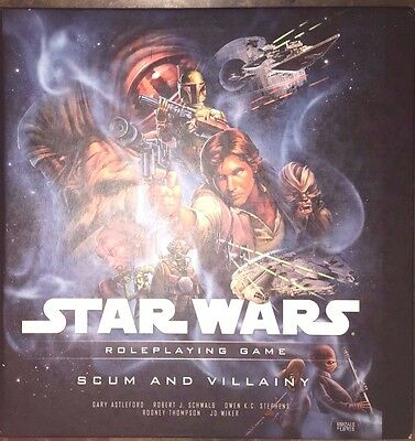 Star Wars Roleplaying Game Scum And Villainy 1St Printing 2008