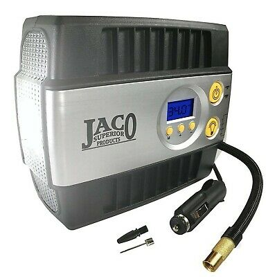JACO SmartPro™ Digital Tire Inflator Pump - 12V Portable Air Compressor - 100 PS