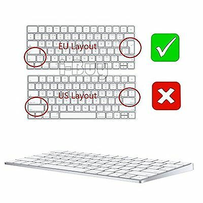 i-Buy 2PCS Silicone Keyboard Cover Film for Apple Magic Keyboard,Keybaord Skin &