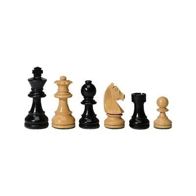 Chess figures - Staunton - black - Kings height 89 mm
