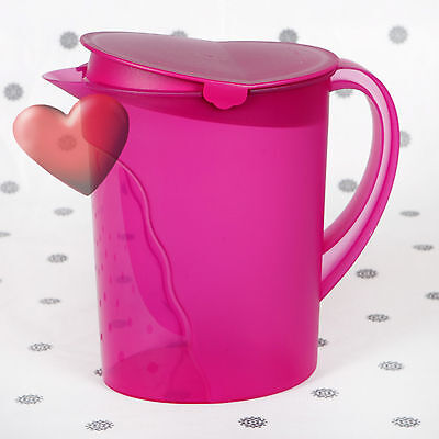 NEW Tupperware Expressions Jug with handle Purple Pitcher 2 Litre
