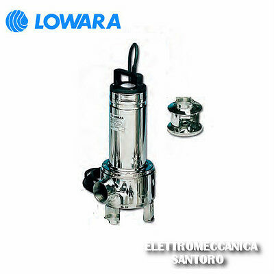 Electric Submersible Pump Domo 10 / B Sg Hp 1,1 220 Volts Lowara