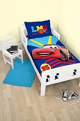 Cars Pistons  Cot Doona Duvet Quilt Cover, Licensed Genuine Disney, Brand New