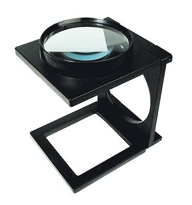 Loupe pliable - Ø 110 mm - Zoom 300 % (compte fil) - Rayher