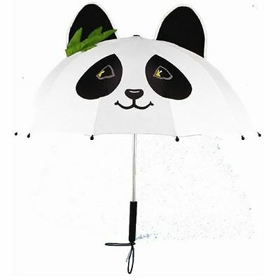 Kidorable Children's Kids Panda Nylon Whimsical Umbrella Brolly New