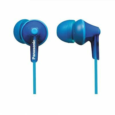 Panasonic RPHJE125/BLUE Ergofit In-Ear Headphones Earphones RP-HJE125E-A New